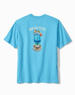 Big & Tall Rum Size Fits All T-Shirt
