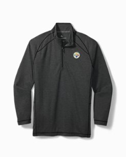 Big & Tall NFL Final Score IslandZone® Half-Zip Sweatshirt