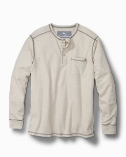 Big & Tall Island Thermal Henley
