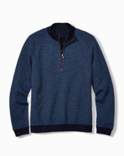 Big & Tall Flipsider Reversible Half-Zip Sweatshirt