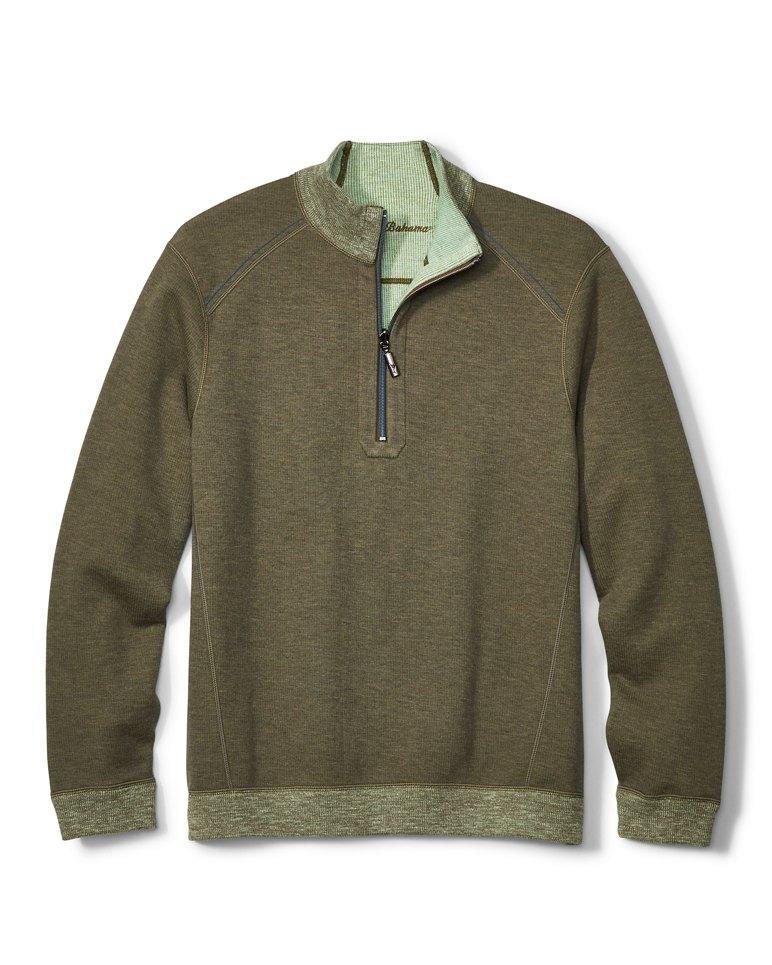 Main Image for Big & Tall Flipsider Reversible Half-Zip Sweatshirt
