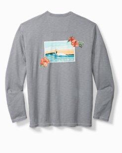 Big & Tall Surf Summer Lux Shirt