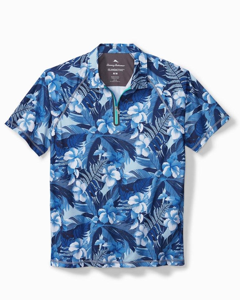 Main Image for Big & Tall Hibiscus Hues IslandActive® Polo