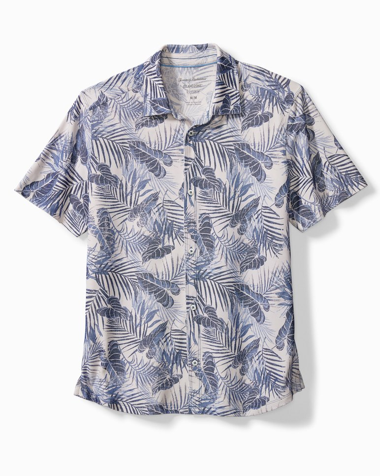 Main Image for Big & Tall Pavia Palms IslandZone® Camp Shirt