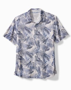 Big & Tall Pavia Palms IslandZone® Camp Shirt