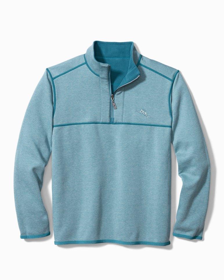 Main Image for Big & Tall Bahama Blitz Fleece Half-Zip Sweatshirt (Online Exclusive)