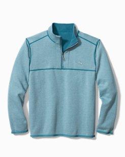 Big & Tall Bahama Blitz Fleece Half-Zip Sweatshirt (Online Exclusive)