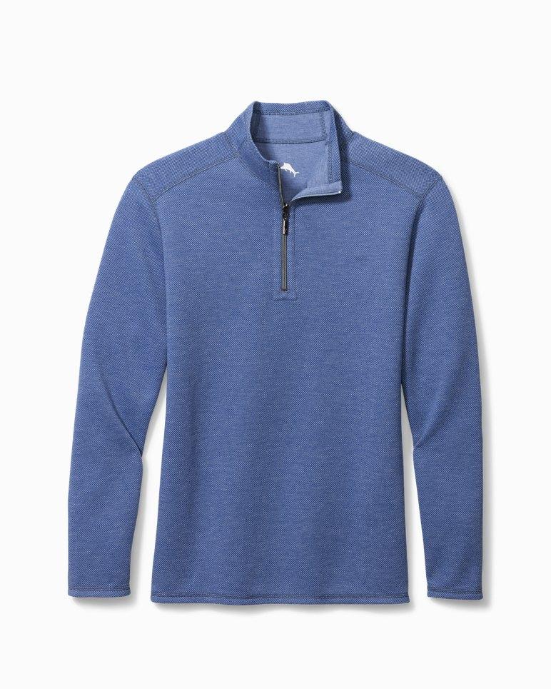 Main Image for Big & Tall Double In Paradise Half-Zip Sweatshirt