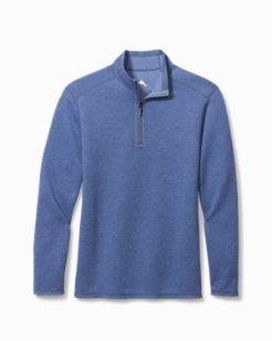 Big & Tall Double In Paradise Half-Zip Sweatshirt