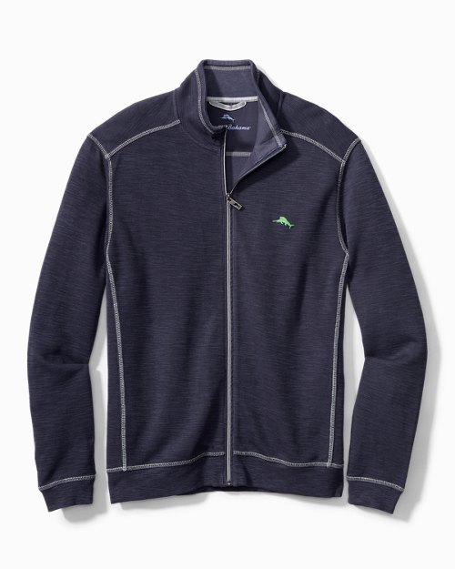 Big & Tall Tobago Bay Full-Zip Sweatshirt