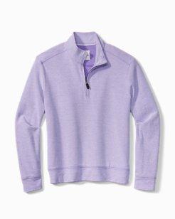 Big & Tall Coral Seas Half-Zip Sweatshirt