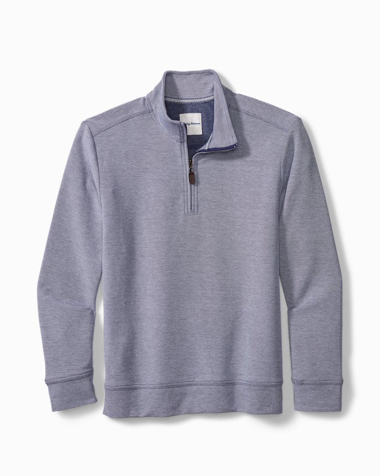 Main Image for Big & Tall Coral Seas Half-Zip Sweatshirt