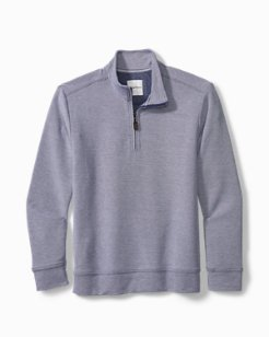 Big & Tall Coral Seas Half-Zip Sweatshirt