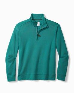 Big & Tall Martinique Half-Zip Sweatshirt