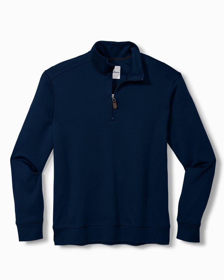 Main Image for Big & Tall Martinique Half-Zip Sweatshirt