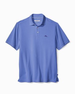 Big & Tall Coastal Crest IslandZone® Polo