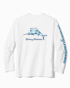 Big & Tall Paradise Marlin Lux T-Shirt