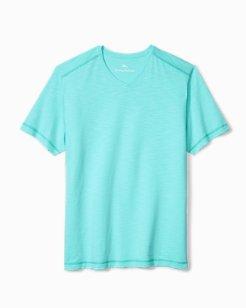 Big & Tall Portside Palms V-Neck T-Shirt
