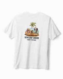 Big & Tall Howliday Cheers T-Shirt