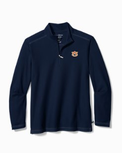 Big & Tall Collegiate Emfielder Half-Zip
