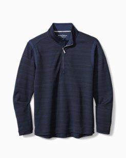 Big & Tall Tidal Stripe IslandZone® Half-Zip Sweatshirt