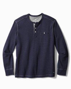 Big & Tall Martin Bay Henley Shirt