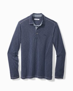 Big & Tall Palmetto Paradise Long-Sleeve Polo