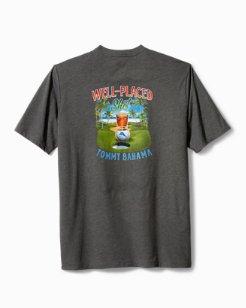 Big & Tall Well Placed Shot T-Shirt