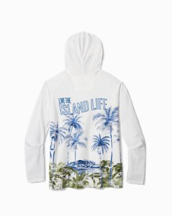 Big & Tall Faded Oasis Lux Hooded Shirt
