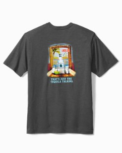 Big & Tall Tequila Talking T-Shirt