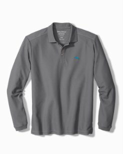 Big & Tall Emfielder Long-Sleeve Polo