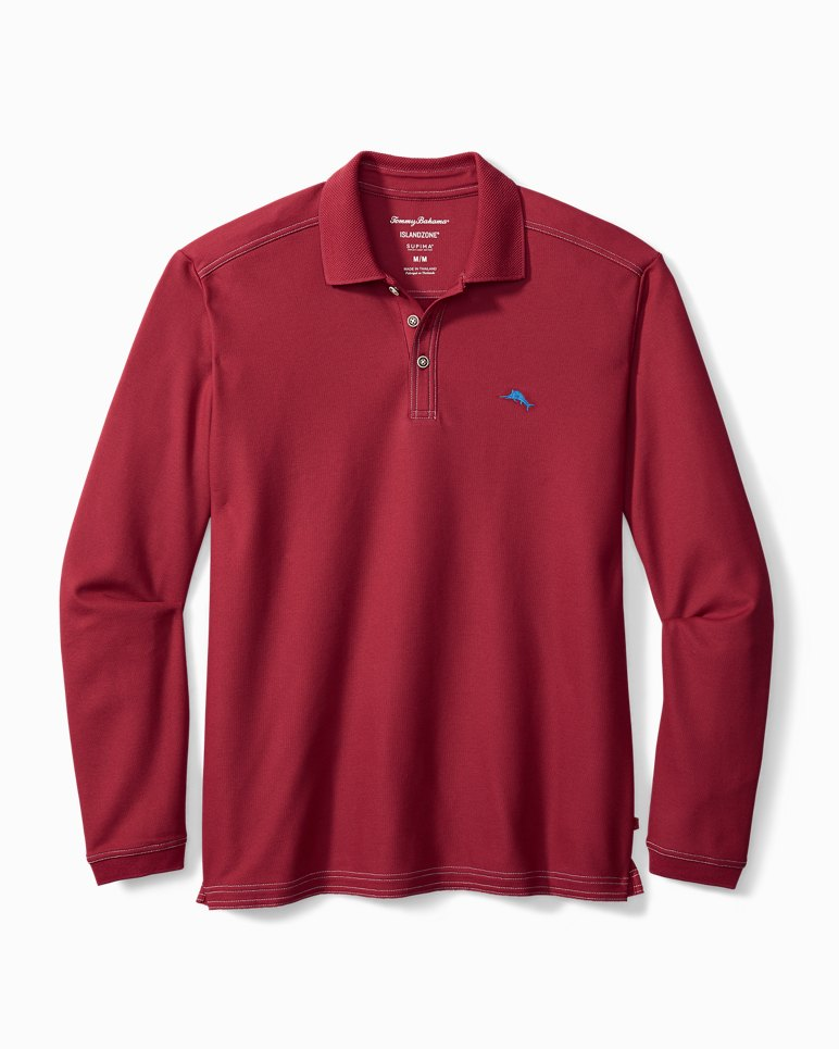 Main Image for Big & Tall Emfielder Long-Sleeve Polo