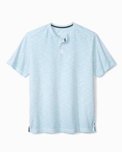 Big & Tall Suncoast Shores Short-Sleeve Henley Shirt