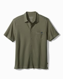 Big & Tall Emfielder Knit Camp Shirt