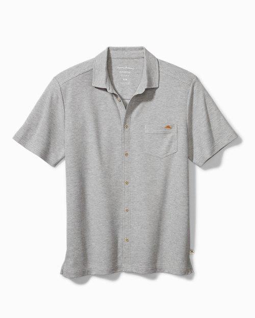 Big & Tall Emfielder Knit Camp Shirt
