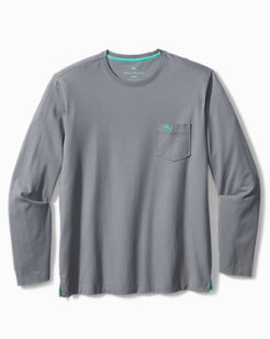 Big & Tall Bali Skyline Long-Sleeve T-Shirt