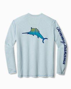Big & Tall Big Wave Marlin Lux Shirt
