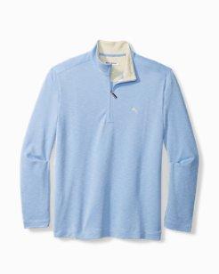 Big & Tall Palm Del Mar Half-Zip Sweatshirt