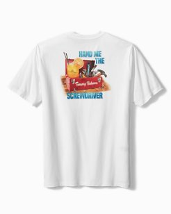 Big & Tall Hand Me The Screwdriver T-Shirt