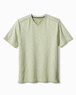 Big & Tall Fray Day Harbor IslandZone® V-Neck T-Shirt