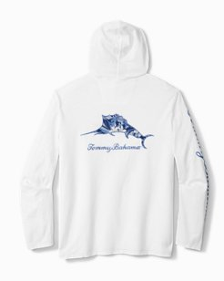 Big & Tall Paradise Marlin Lux Hoodie