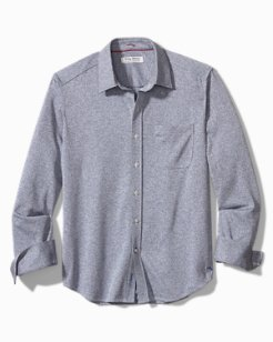 Big & Tall San Lucio Pattern Stretch Shirt