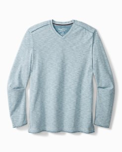 Big & Tall Fray Day Harbor IslandZone® V-Neck Shirt