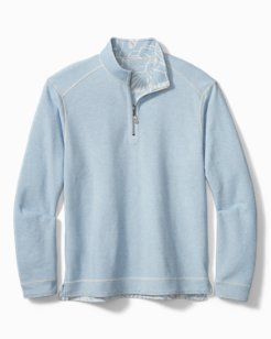 Big & Tall Costa Branca Reversible Half-Zip Sweatshirt