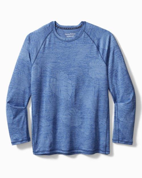 Big & Tall Delray Frond IslandZone® Crewneck Shirt