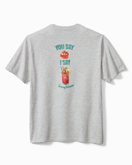Big & Tall You Say Tomato T-Shirt