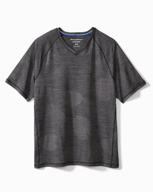 Big & Tall Delray Frond IslandZone® V-Neck T-Shirt