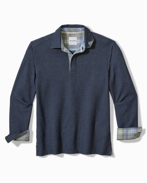 Big & Tall Montserrat Polo Sweatshirt