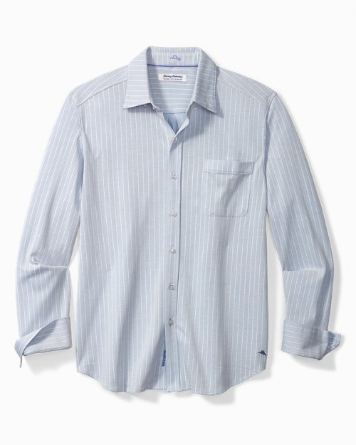 Big & Tall San Lucio Sunshine Coast Stretch IslandZone® Shirt