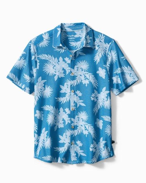 Big & Tall Ocean Grove IslandZone® Knit Camp Shirt